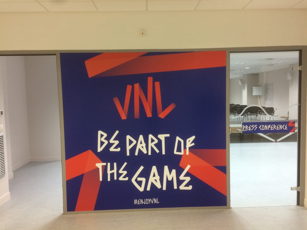 Be part of the game - VNL 2018 - audiobroadcast.tv
