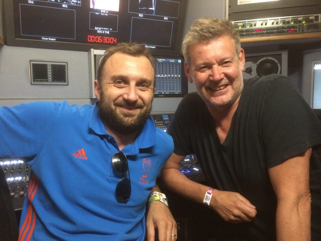 Alessandro Sdrigotti - Alan Moulder - audiobroadcast.tv